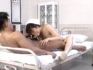Eri Ueno nurse has twat fucked on and on