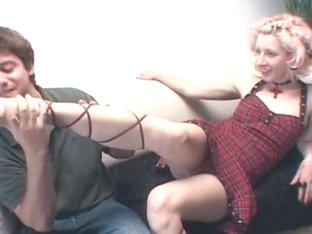 FemdomFootFetish Video: Rosy's Strappy High Heels