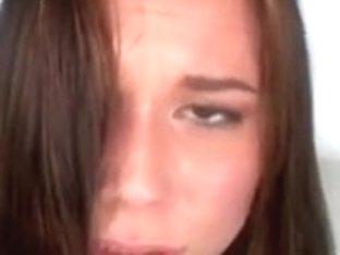 Gorgeous Redhead Blowjob todrink Cum