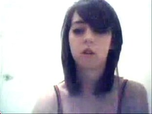 eighteen Year Old playing on web camera