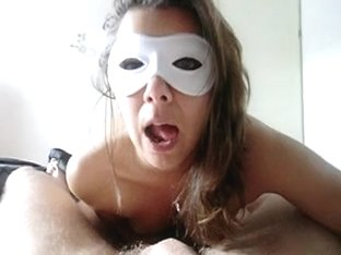 Alysha - prostate milking - BJ and sperm eating - jizz swallow