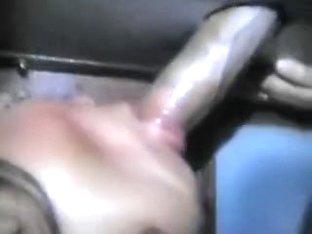 latina slut glory hole part 2 sucking and fucking