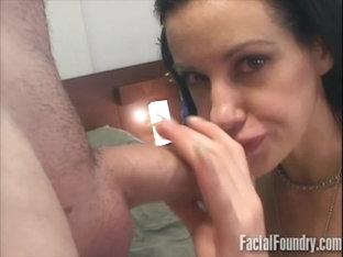 MILF deepthroating a big dick