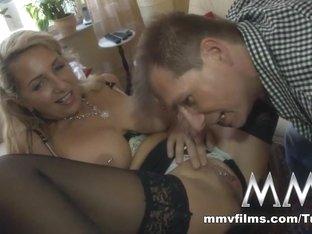 Crazy pornstar in Best Blowjob, German porn movie