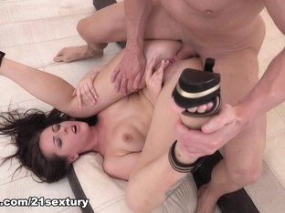 Crazy pornstars Carolina June, Carolina Vogue in Exotic Facial, Anal porn clip
