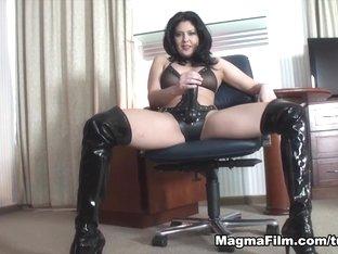 Hottest pornstar in Amazing German, Brunette sex video