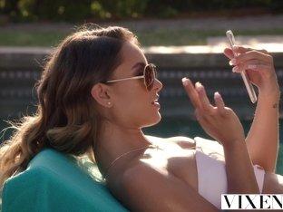 VIXEN Uma Jolie Fucks Huge Cock For Favors