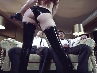 Hottest pornstar Mira Sunset in horny threesome, dp xxx movie