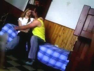 Teen blonde slut hidden sex tape