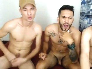 HOrny latin guys on cam