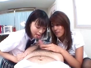 Hottest Japanese chick Mai Miyashita, Nanami Takase, Nagisa Okamoto in Best Foot Job/Ashifechi, PO.