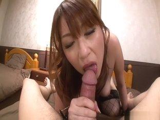 Amazing Japanese chick Araki Hitomi in Hottest JAV uncensored Lingerie clip