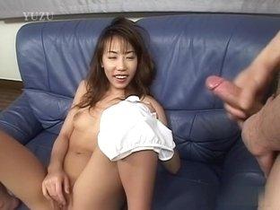 Exotic Japanese model in Horny JAV uncensored Handjobs clip