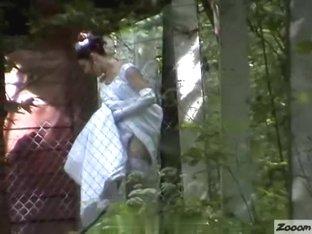 Girls Pissing voyeur video 54