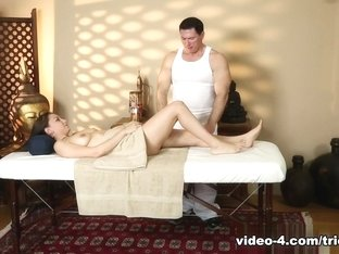 Crazy pornstars John Strong, Miss Rican in Best Massage, Small Tits sex movie