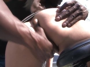 Best pornstar Amber Cox in horny interracial, piercing sex clip