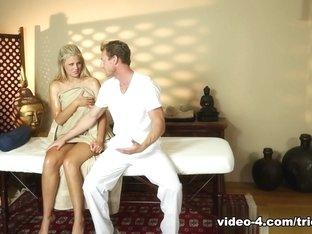 Horny pornstars Ryan McLane, Scarlet Red, Sarah Vandella in Exotic Facial, Medium Tits porn video
