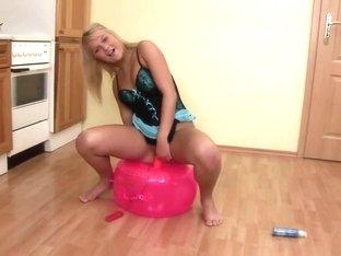 Incredible pornstar Clara Moon in horny dildos/toys, solo porn scene