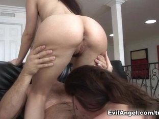 Exotic pornstars Ramon Nomar, Jessie Rogers, Sovereign Syre in Crazy MILF, Big Tits porn movie