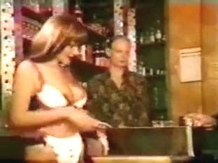 Older Men In Suits Get Teased By Mature Bar Maid Wear-Tweed