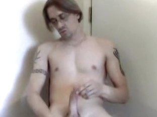 Jerking off my big boner alone