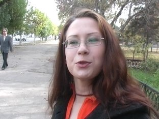 True sex video with girl in glasses