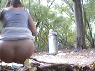 My hidden video camera accidentally spied pissing gal