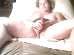our sex chair jenny plays with her toy