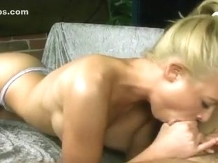 Kayden gives a flawless oral-job and drink