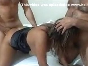 Hot boys gets her snatch in position