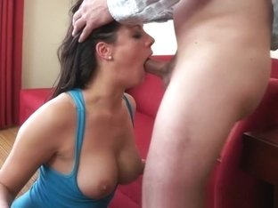 Incredible Amateur video with Brunette, Big Dick scenes