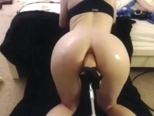Fucked in the ass by the sex machine