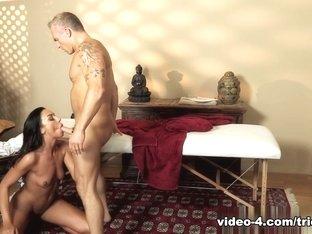 Amazing pornstars Marcus London, Tiffany Brookes in Best Latina, Massage adult clip