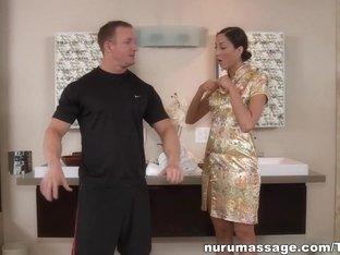 Horny pornstar Angelica Saige in Amazing Massage, Japanese xxx movie