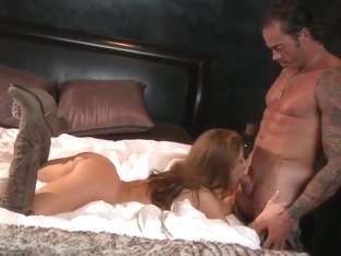 Sheena Shaw gets her twat attacked from behind