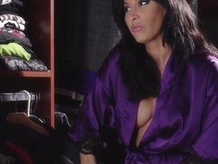 Busty milf housewife dominates inked masseuse