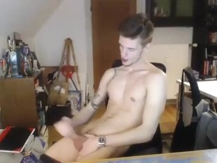 Incredible male in amazing amature, cum shots homo adult clip