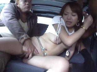 Horny Japanese whore Miyo Kasuga in Best JAV uncensored Group Sex scene