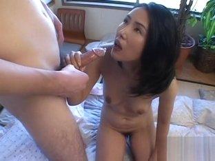 Exotic Japanese slut in Crazy Uncensored, Blowjob/Fera JAV movie