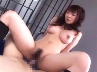 Incredible Japanese slut in Fabulous Stockings/Pansuto, Big Tits JAV video