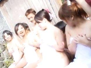 Crazy Japanese slut in Amazing Big Tits, Showers JAV video
