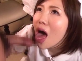 Fabulous Japanese girl in Incredible Medical, Facial JAV clip
