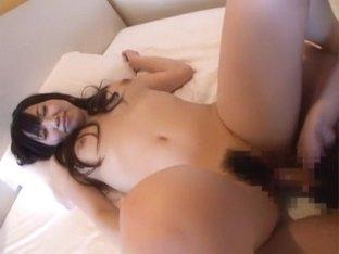 Horny Japanese slut Aya Inami in Exotic Doggy Style JAV video