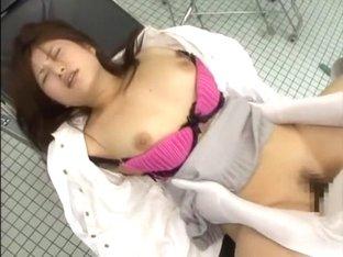 Exotic Japanese girl Tomoka Nozawa, Maimi Arakawa, Natsuki Ando in Incredible Fetish JAV clip