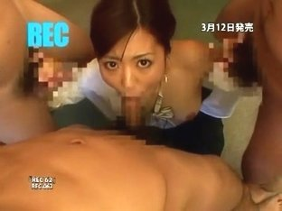 Exotic Japanese model in Hottest Interview, Creampie/Nakadashi JAV clip