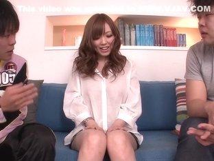 Crazy Japanese slut Megu Kamijo in Amazing JAV uncensored Teen movie