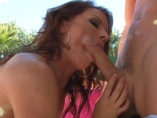 Inari Vachs and her sweet ass in a company of  Johnny Sins