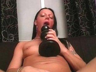 Carmen's Brutal Dildo Sex