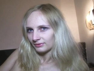 PublicAgent: Skinny shy blonde fucked in a hotel room for cash