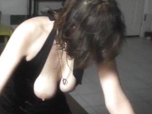 Kissing, blowjob and amazing lapdance